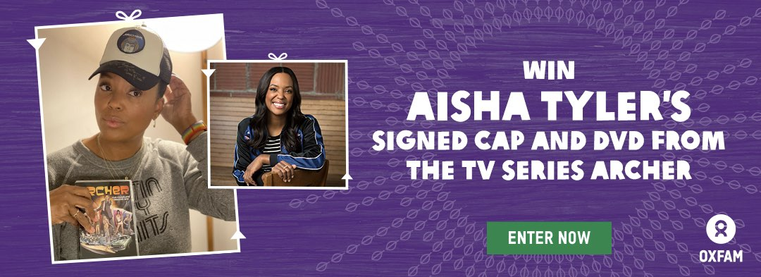Win Aisha Tyler's signed cap from the TV series Archer