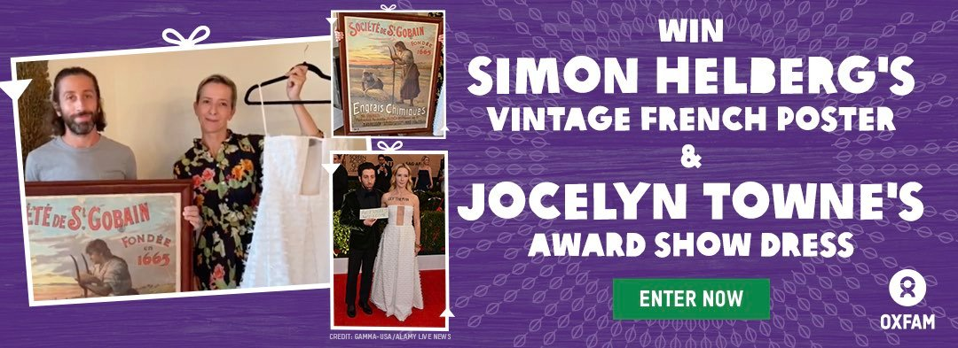 Win Simon Helberg's Vintage French Poster and Jocelyn Towne's Award Show Dress