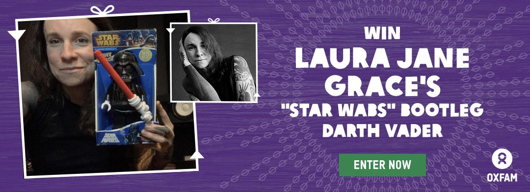 Win Laura Jane Grace's STAR WABS Bootleg Darth Vader