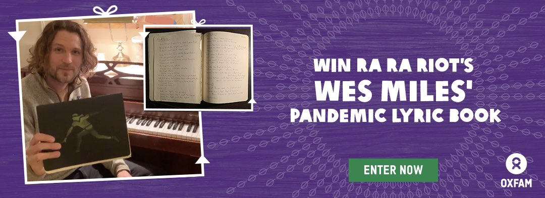 Win Wes Miles' Pandemic Lyric Book
