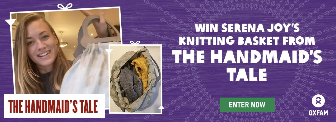 Win Serena Joy's Knitting Basket from The Handmaid's Tale