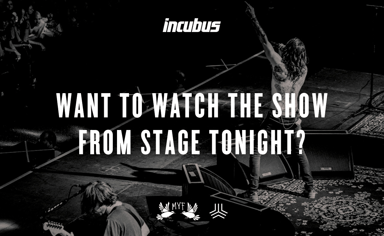 Watch Incubus From Onstage In Fresno Ca 81517